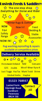 Lusted Feeds & Saddlery - The one stop shop. Everything for Horse and Rider