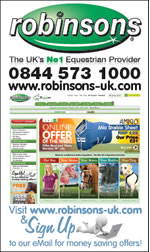 Robinsons - The uks No equestrian Provider