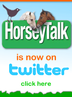 Horseytalk.net is now on Twitter