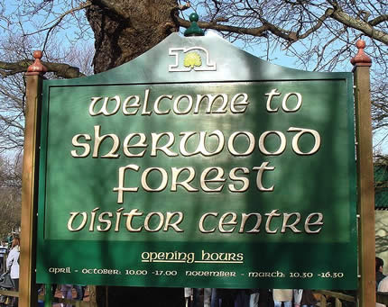 Save Sherwood Forest