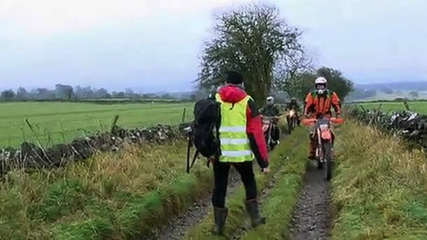 The Roych, Peak District National Park Trail-bikes, quad bikes and 4x4s to be permanently banned