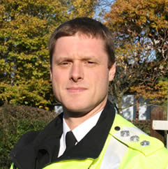 Phil Kedge, East Hampshire District Commander of Hampshire Police