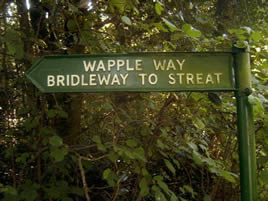 Whapple Way bridleway mended